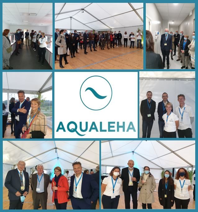 Photos de l'inuaguration officielle AQUALEHA